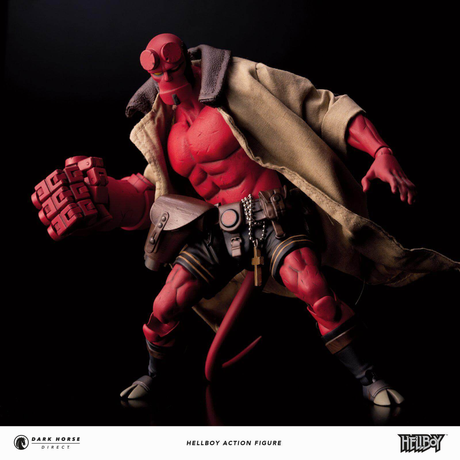 Hellboy Standard Version 1:12 Scale Action Figure 1000 Toys Dark Horse