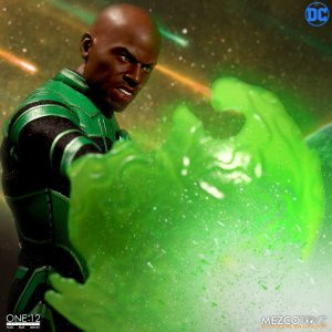Mezco One 12 Collective John Stewart Green Lantern