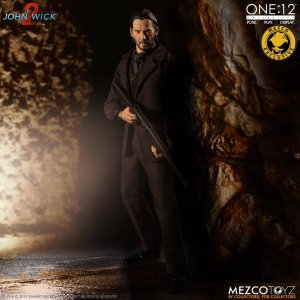 Mezco One:12 Collective John Wick Chapter 2 Deluxe Edition Mezco Exclusive