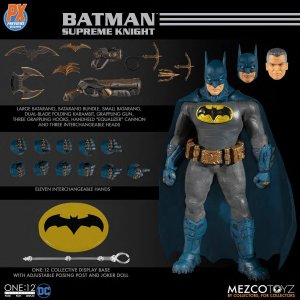 Mezco One:12 Collective PX Batman Supreme Knight Blue