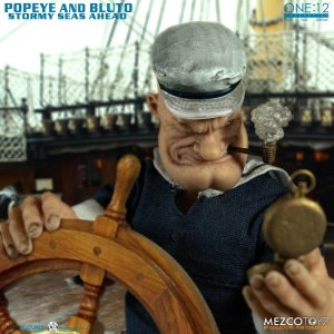 Mezco One 12 Collective Popeye & Bluto Stormy Seas Ahead Deluxe Box Set