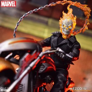 Mezco One:12 Collective Ghost Rider & Hell Cycle Set