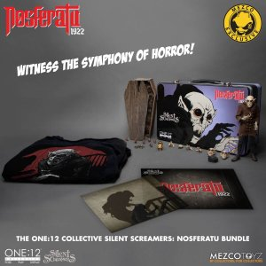 Mezco One 12 Collective Silent Screamers Nosferatu Bundle Mezco Exclusive