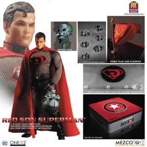 Mezco Toyz One:12 Collective Red Son Superman