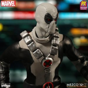 Mezco One:12 Collective X-Force Deadpool Previews Exclusive