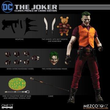 Mezco One:12 Collective Joker Clown Prince of Crime Edition