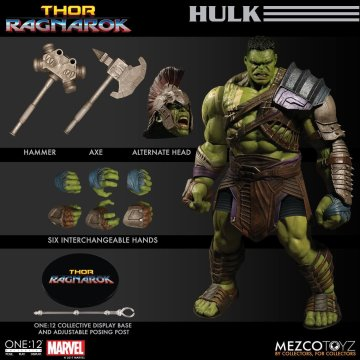 Mezco One:12 Collective Ragnarok Hulk