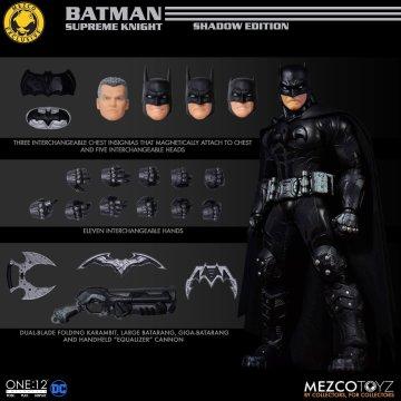 Mezco One:12 Collective Batman Supreme Knight Shadow Edition Mezco Exclusive