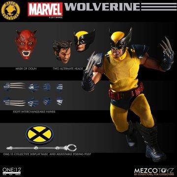 Mezco Toyz One:12 Collective Classic Wolverine