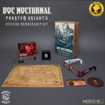 Doc Nocturnal's Phantom Knights Membership Kit Mezco Exclusive