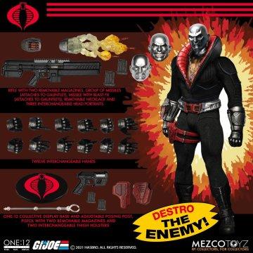 Mezco One:12 Collective G.I. Joe Destro
