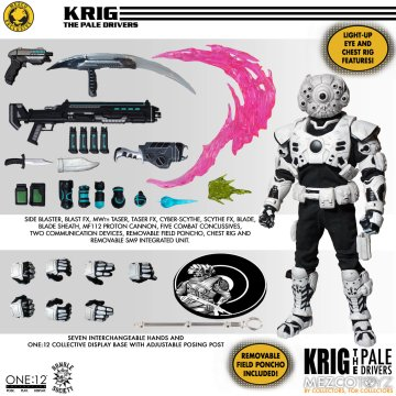 Mezco One:12 Collective Krig-13 Pale Drivers Edition