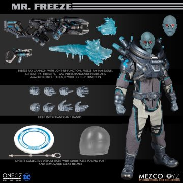 Mezco One:12 Collective Mr. Freeze Deluxe Edition