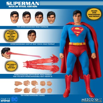 Mezco One:12 Collective Superman: Man of Steel Edition