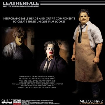Mezco One:12 Collective Texas Chainsaw Massacre 1974 Leatherface Deluxe Edition